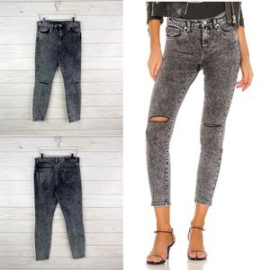 BLANK NYC The Great Jones Acid Wash Skinny Jeans